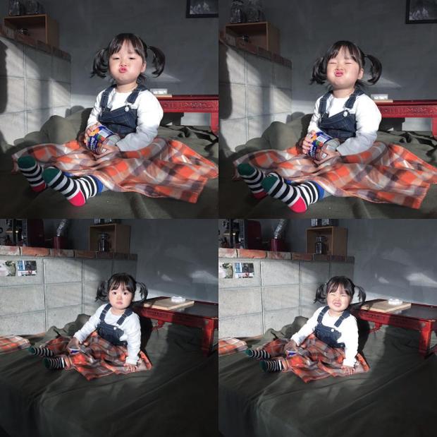 Cô nhóc Hàn Quốc đáng yêu tới nỗi xem ảnh mà chỉ muốn lao ngay vào... cắn má - Ảnh 17.