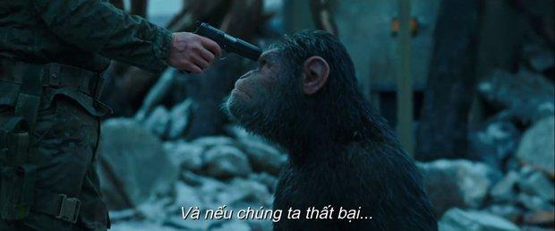 Trailer của War for the Planet of the Apes hé lộ cuộc chiến một mất một còn giữa người và vượn - Ảnh 7.