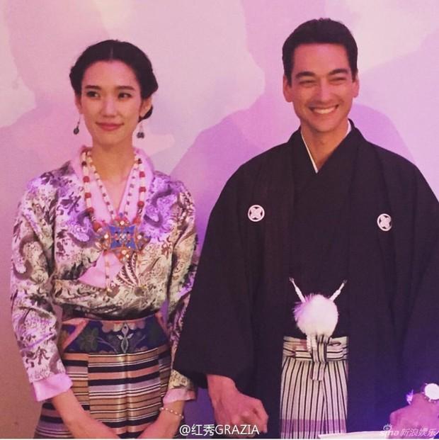 Siêu mẫu Nhật Bản tổ chức lễ cưới ấm cúng cùng chồng điển trai - Ảnh 8.