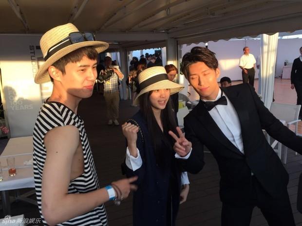 Sao Điều tuyệt vời nhất của chúng ta xuất hiện cùng bạn gái tin đồn ở Cannes - Ảnh 3.