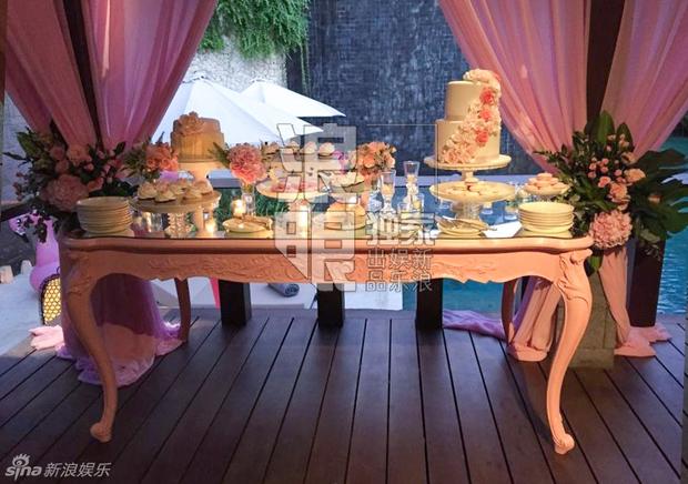 Lâm Tâm Như mở tiệc chia tay cuộc đời độc thân ngập tràn sắc hồng - Ảnh 7.