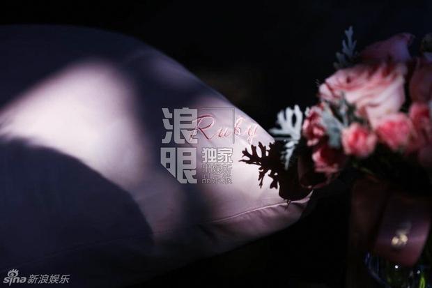 Lâm Tâm Như mở tiệc chia tay cuộc đời độc thân ngập tràn sắc hồng - Ảnh 8.