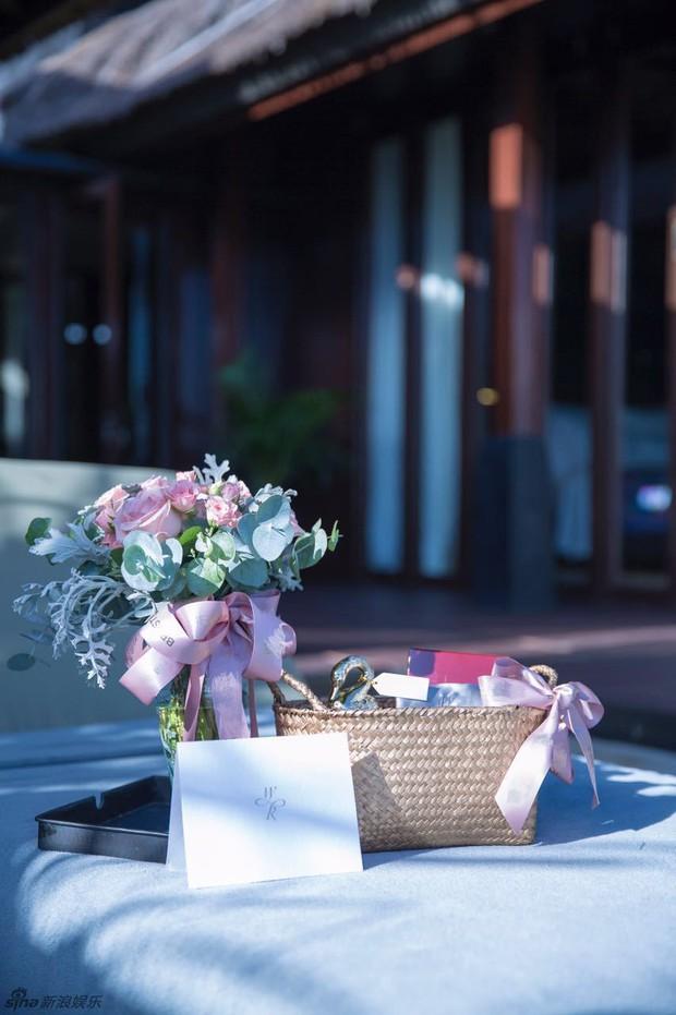 Lâm Tâm Như mở tiệc chia tay cuộc đời độc thân ngập tràn sắc hồng - Ảnh 10.