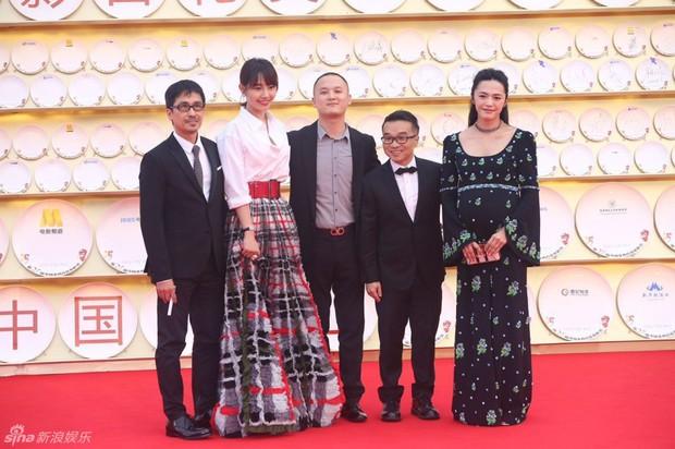 Dàn sao Hoa ngữ tề tựu thảm đỏ LHP Kim Kê Bách Hoa lần thứ 25 - Ảnh 17.