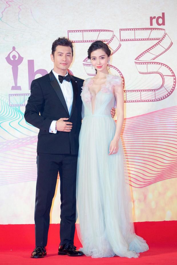 Dàn sao Hoa ngữ tề tựu thảm đỏ LHP Kim Kê Bách Hoa lần thứ 25 - Ảnh 1.
