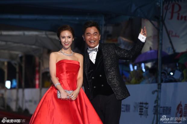 Dàn mỹ nhân xứ Đài váy áo lộng lẫy, đọ sắc tại thảm đỏ Kim Chung lần thứ 51 - Ảnh 7.