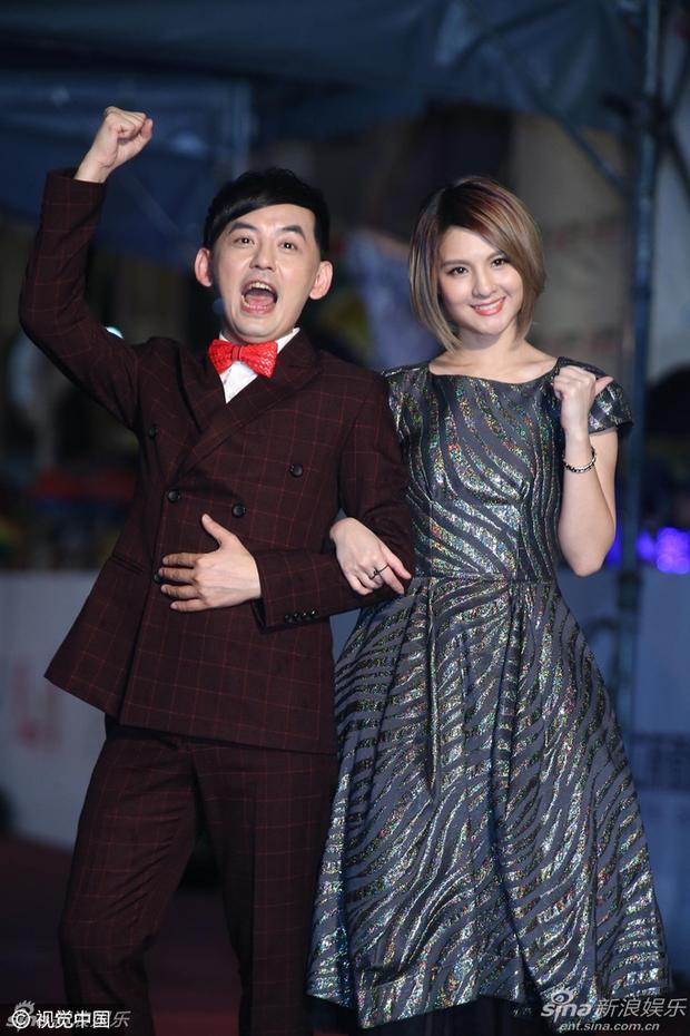 Dàn mỹ nhân xứ Đài váy áo lộng lẫy, đọ sắc tại thảm đỏ Kim Chung lần thứ 51 - Ảnh 11.