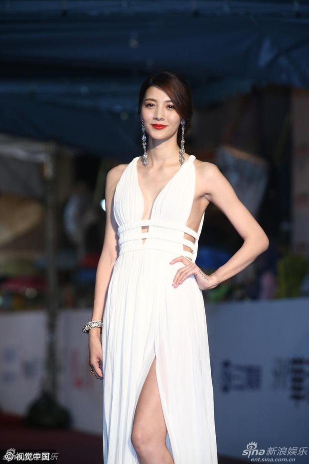 Dàn mỹ nhân xứ Đài váy áo lộng lẫy, đọ sắc tại thảm đỏ Kim Chung lần thứ 51 - Ảnh 12.