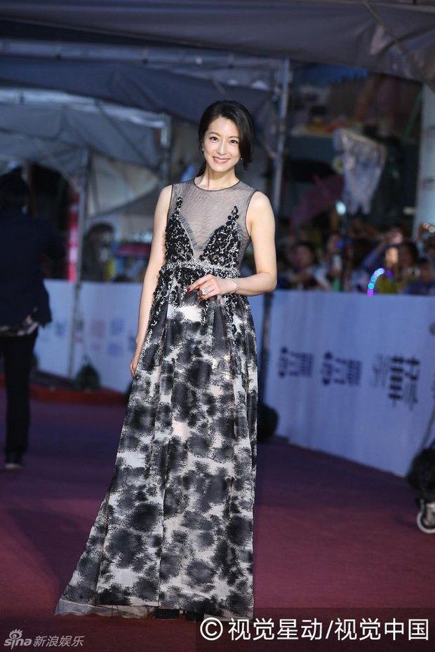 Dàn mỹ nhân xứ Đài váy áo lộng lẫy, đọ sắc tại thảm đỏ Kim Chung lần thứ 51 - Ảnh 14.