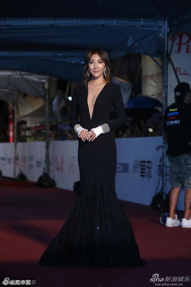 Dàn mỹ nhân xứ Đài váy áo lộng lẫy, đọ sắc tại thảm đỏ Kim Chung lần thứ 51 - Ảnh 17.