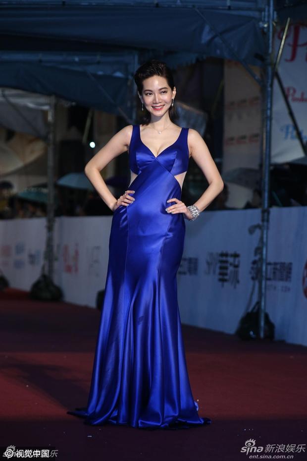Dàn mỹ nhân xứ Đài váy áo lộng lẫy, đọ sắc tại thảm đỏ Kim Chung lần thứ 51 - Ảnh 21.