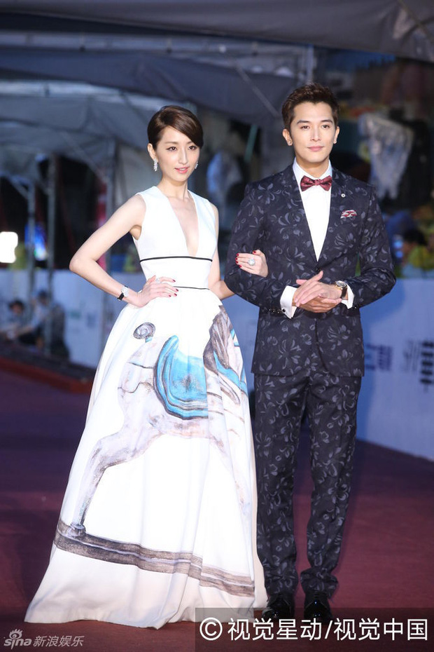 Dàn mỹ nhân xứ Đài váy áo lộng lẫy, đọ sắc tại thảm đỏ Kim Chung lần thứ 51 - Ảnh 6.
