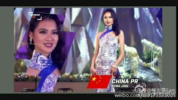 Hoa hậu Trung Quốc bị tố đá bay bạn trai ngay sau khi đăng quang - Ảnh 2.