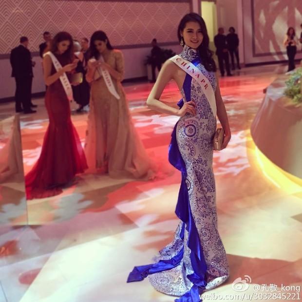 Hoa hậu Trung Quốc bị tố đá bay bạn trai ngay sau khi đăng quang - Ảnh 8.