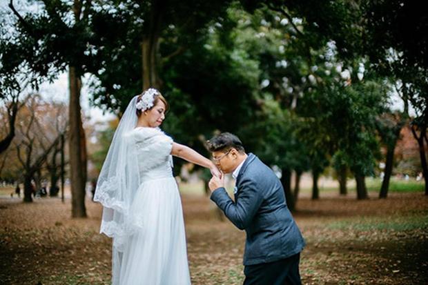 Lặn lội sang Nhật Bản chụp ảnh cưới, cặp đôi Trung Quốc nhận về toàn... thảm họa - Ảnh 8.