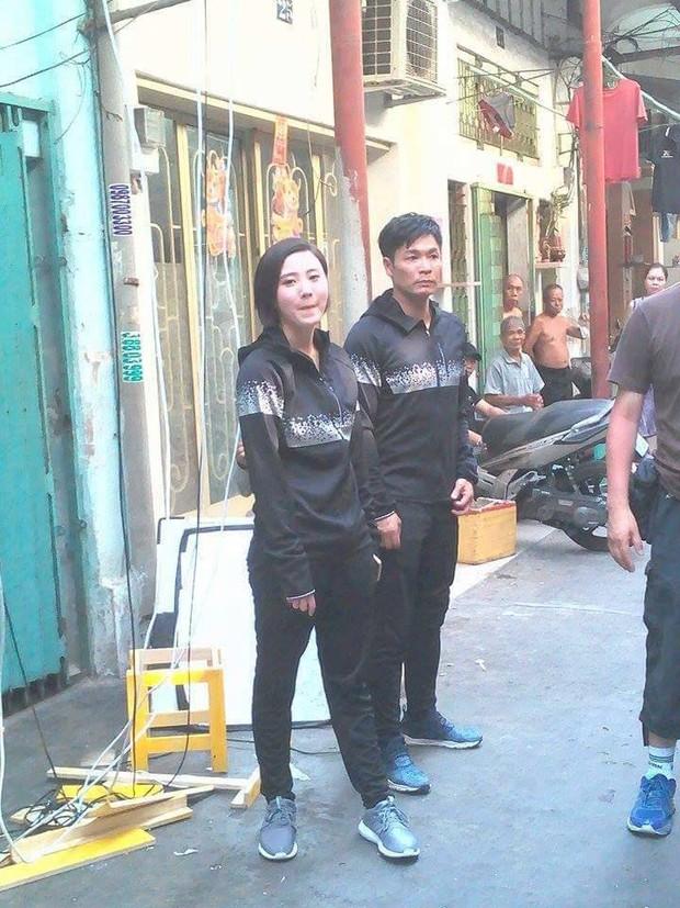 Sao TVB Quách Tấn An, Huỳnh Đức Bân, Chu Thần Lệ được fan bắt gặp quay phim tại Chợ Lớn - Ảnh 10.