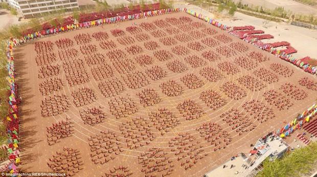 Buổi khai giảng hoành tráng với sự góp mặt của 26.000 cao thủ thiếu lâm - Ảnh 7.