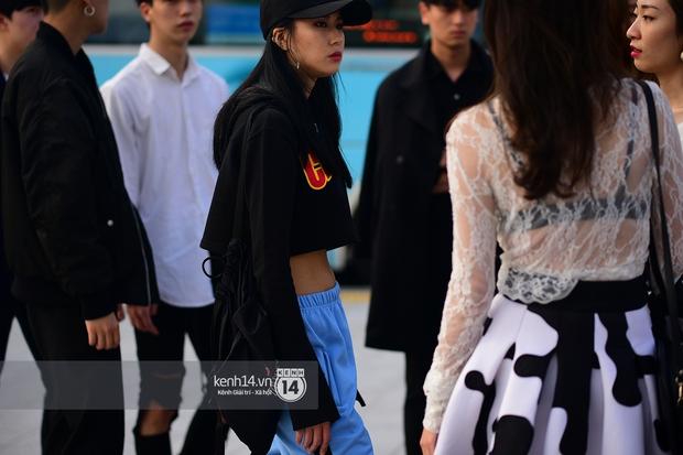Hoàng Ku, Châu Bùi, Min xuất hiện cực nét cùng fashionista Hàn tại Tuần lễ thời trang ngày 3 - Ảnh 8.