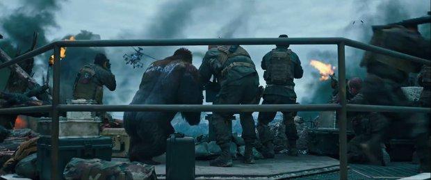 Trailer của War for the Planet of the Apes hé lộ cuộc chiến một mất một còn giữa người và vượn - Ảnh 8.