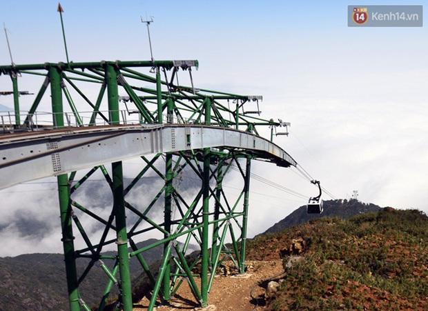 Quang cảnh tuyệt đẹp khi trải nghiệm tuyến cáp treo lên đỉnh Fansipan - Ảnh 6.