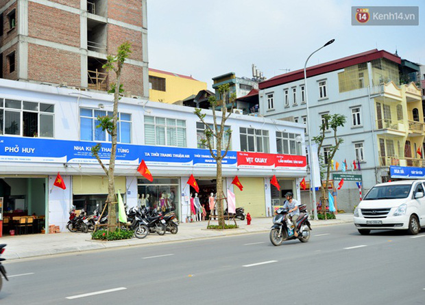 Thông xe tuyến đường kiểu mẫu đầu tiên ở Hà Nội - Ảnh 9.