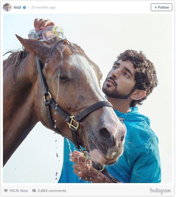 Không chỉ đẹp trai, giàu có, chàng hoàng tử Dubai này còn khiến bao người ngưỡng mộ vì những hành động cao đẹp - Ảnh 3.