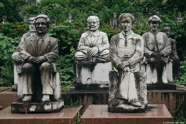 Nỗi ám ảnh từ những bức tượng biết đi tại công viên ma Nhật Bản - Ảnh 4.