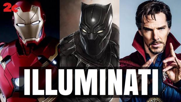 Hội Iluminati sẽ xuất hiện trong phim siêu anh hùng Doctor Strange? - Ảnh 10.