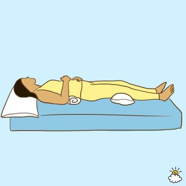 8 tư thế ngủ kì diệu giúp bạn chữa bách bệnh - Ảnh 2.