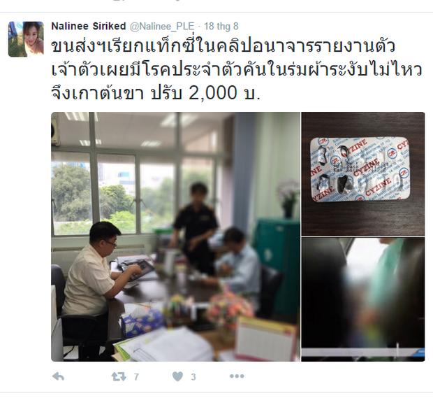 Thái Lan: Nữ hành khách kinh hãi khi chứng kiến tài xế taxi vừa lái xe vừa thủ dâm - Ảnh 2.