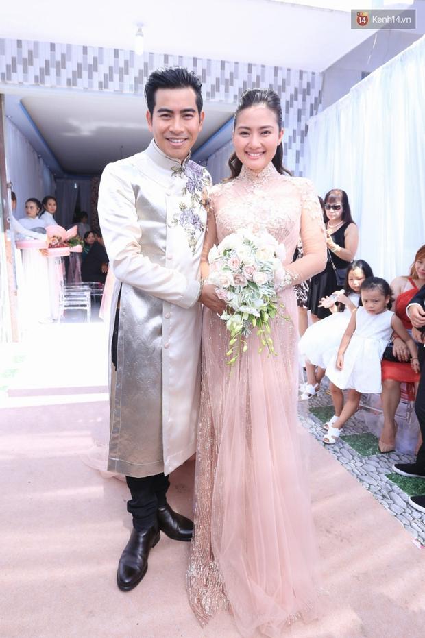 Diễn viên Ngọc Lan mang thai trước khi cưới 3 tháng - Ảnh 1.