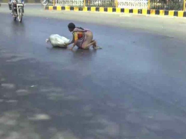 Chùm ảnh: Những hình ảnh nắng nóng khủng khiếp chỉ có ở Ấn Độ - Ảnh 4.