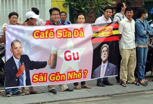 Những hình ảnh ấn tượng nhất của Tổng thống Obama trong 3 ngày ở Việt Nam - Ảnh 9.