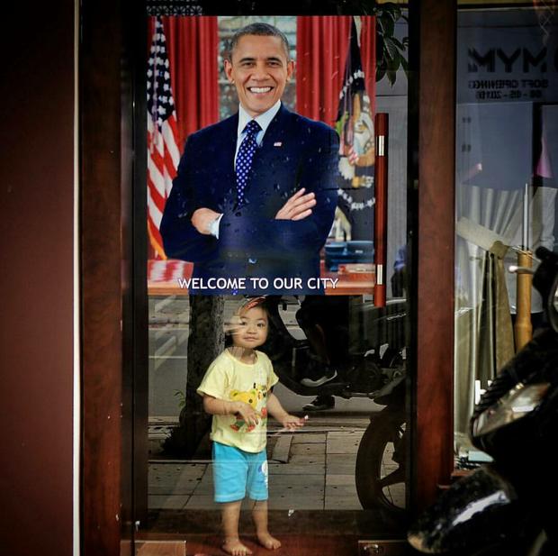 Những hình ảnh ấn tượng nhất của Tổng thống Obama trong 3 ngày ở Việt Nam - Ảnh 14.