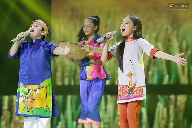 Đây là 3 gương mặt tranh ngôi Quán quân Giọng hát Việt nhí 2016! - Ảnh 16.