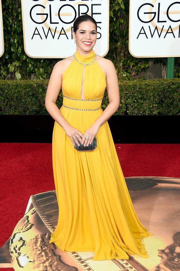 Katy Perry, Jennifer Lawrence và dàn sao lộng lẫy trên thảm đỏ Quả Cầu Vàng 2016 - Ảnh 45.