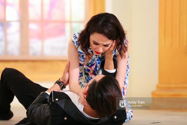 Next Top Model: Angela Phương Trinh đánh ghen, cãi lộn, khóc vật vã cùng thí sinh - Ảnh 3.