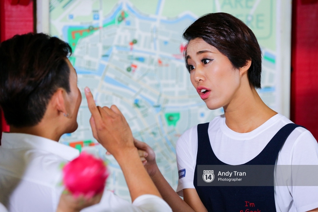 Next Top Model: Angela Phương Trinh đánh ghen, cãi lộn, khóc vật vã cùng thí sinh - Ảnh 8.