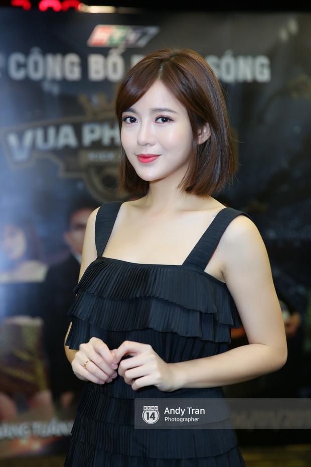 Hot girl Tú Linh M.U cực xinh trong buổi ra mắt gameshow bóng đá - Ảnh 3.