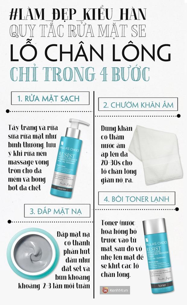4 bước rửa mặt giúp da người Hàn mịn màng không một lỗ chân lông - Ảnh 1.