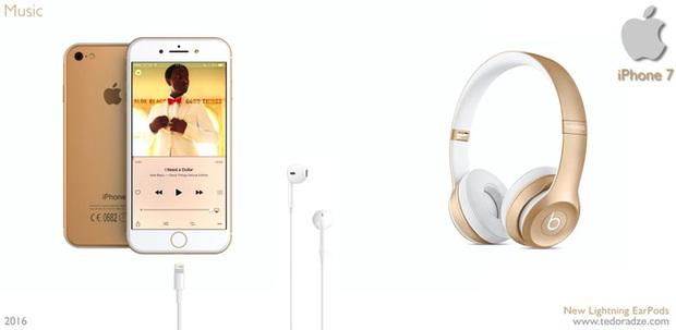 Chắc đến 90% đây là chiếc tai nghe sẽ bán kèm iPhone 7 - Ảnh 2.