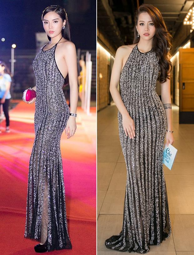 Vừa chuyển style nữ tính, An Nguy đã đụng ngay váy khoét lưng gợi cảm với Hoa hậu Kỳ Duyên - Ảnh 7.