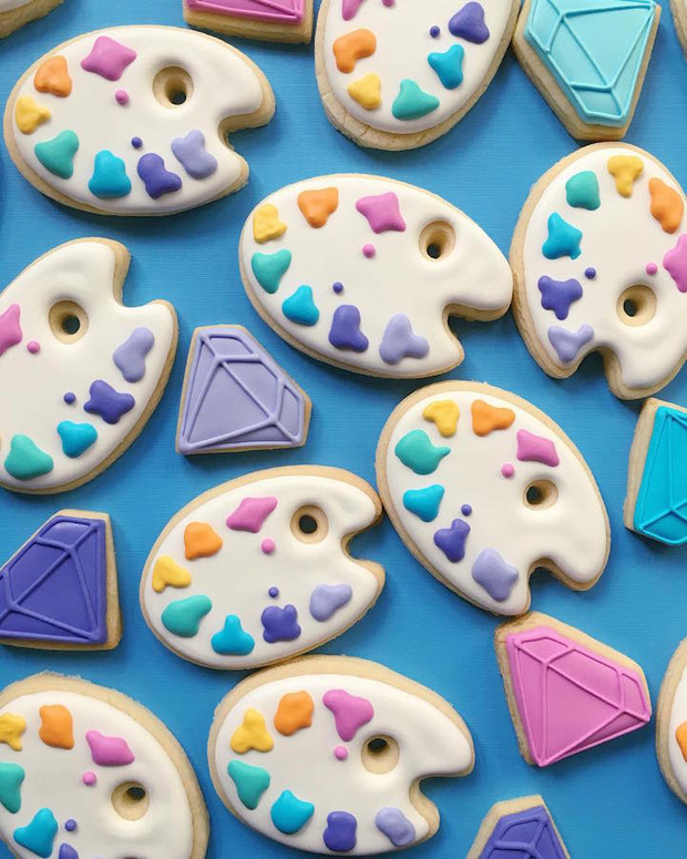 Dải ngân hà bánh cookie tuyệt đẹp nhìn mà chẳng nỡ cắn một miếng - Ảnh 1.