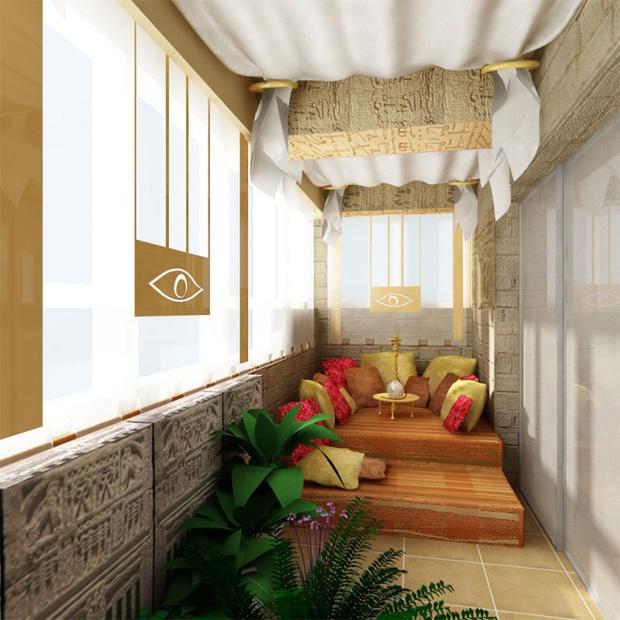 Làm mới ban công chật hẹp thành nơi đón nắng nghỉ dưỡng xa hoa - Ảnh 13.