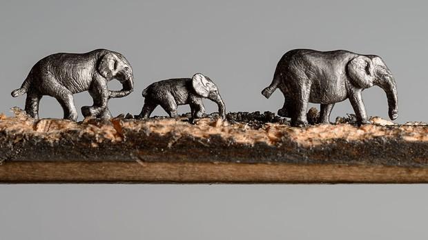 Thật khó tin nhưng đây là những gì được tạo ra từ chính cây bút chì bé tí xíu - Ảnh 2.