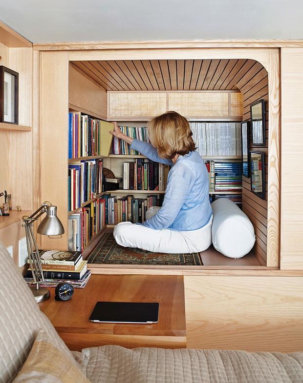 20 ý tưởng xây phòng đọc sách đẹp lung linh dành cho hội mọt sách - Ảnh 19.