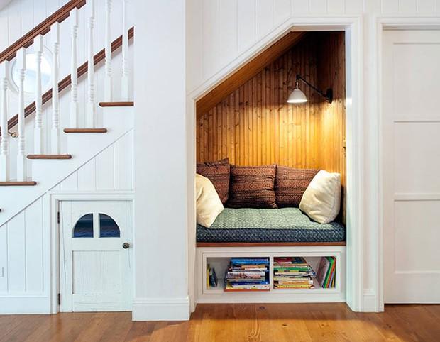 20 ý tưởng xây phòng đọc sách đẹp lung linh dành cho hội mọt sách - Ảnh 3.