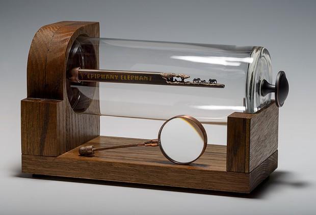 Thật khó tin nhưng đây là những gì được tạo ra từ chính cây bút chì bé tí xíu - Ảnh 3.