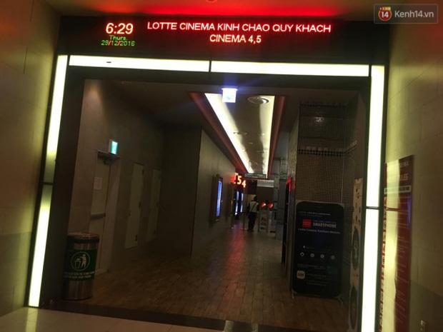 Tạm dừng hoạt động phòng chiếu phim có mảng trần rơi khiến cô gái trẻ nhập viện ở Lotte Keangnam - Ảnh 2.