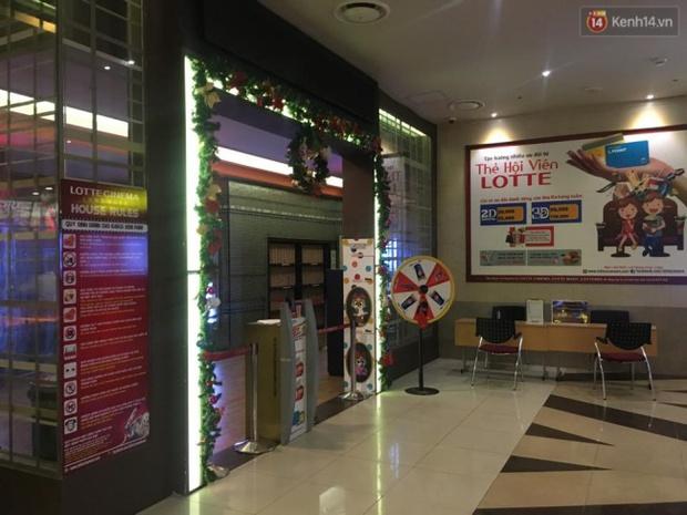 Tạm dừng hoạt động phòng chiếu phim có mảng trần rơi khiến cô gái trẻ nhập viện ở Lotte Keangnam - Ảnh 1.